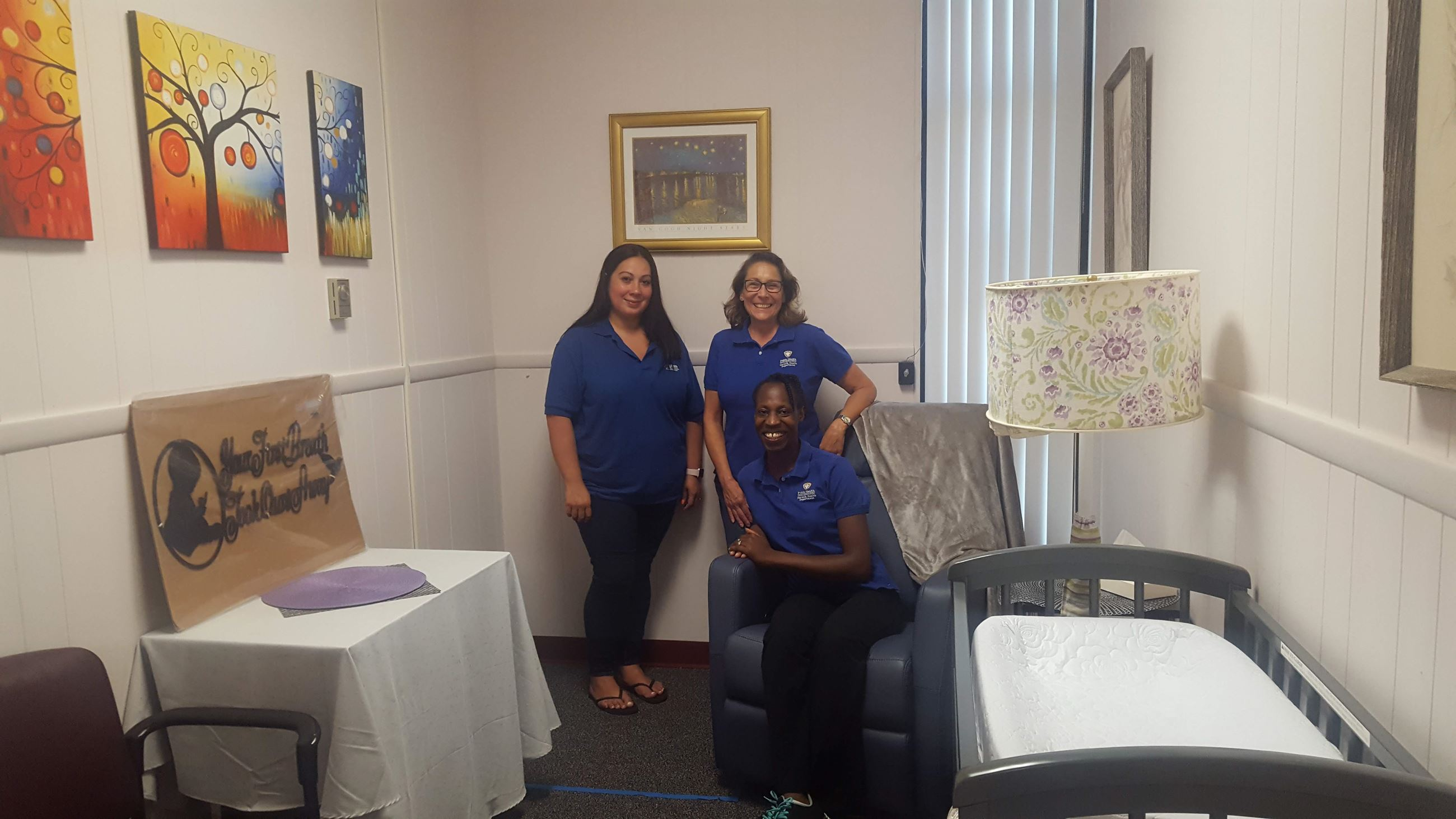 WIC Staff Supports Breastfeeding